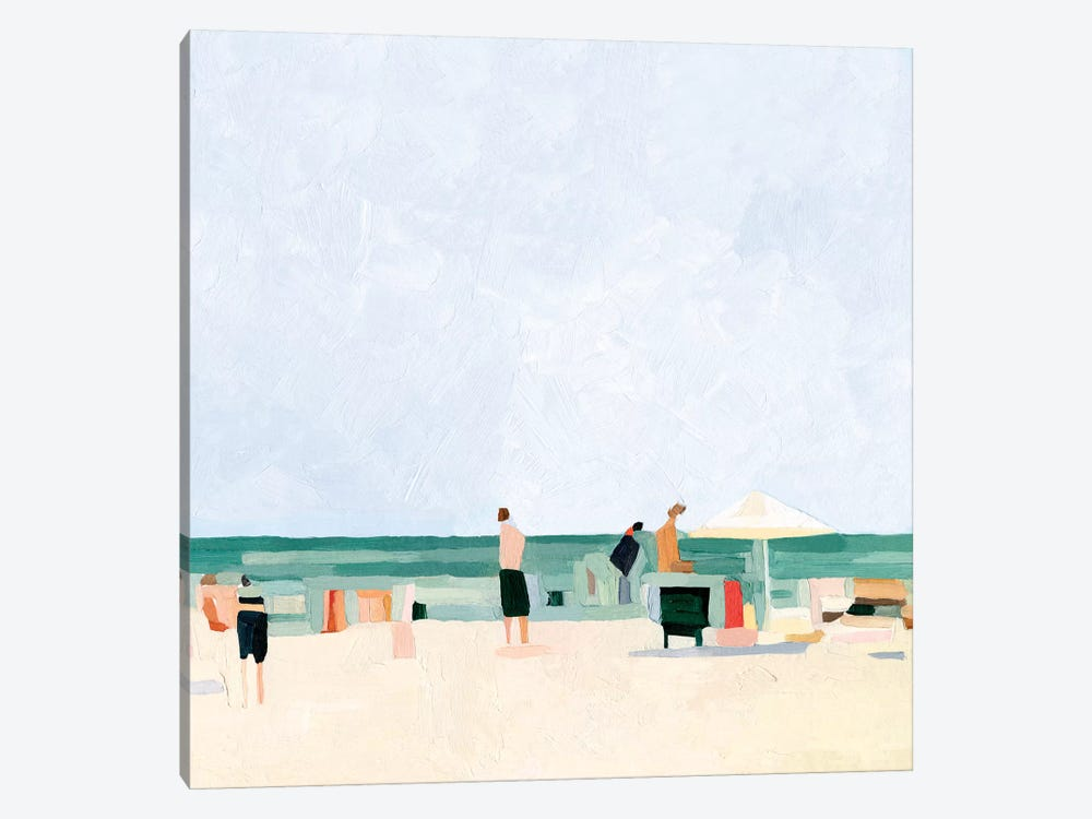 Family Vacation I by Emma Scarvey 1-piece Art Print