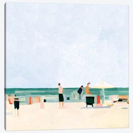 Family Vacation I 3-Piece Canvas #EMS222} by Emma Scarvey Canvas Wall Art