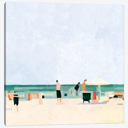 Family Vacation I Canvas Print #EMS222} by Emma Scarvey Canvas Wall Art
