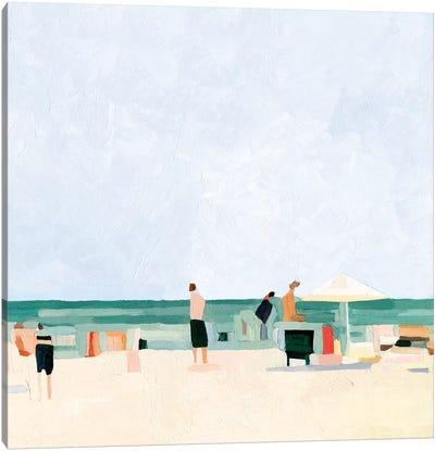 Family Vacation I Canvas Art Print