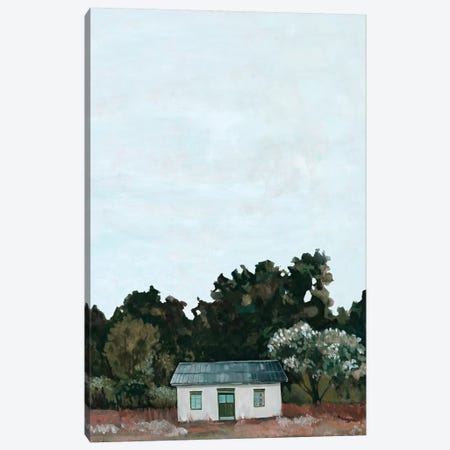 Forest Cottage II Canvas Print #EMS225} by Emma Scarvey Canvas Print