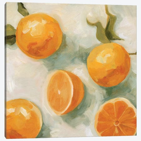 Fresh Citrus IV Canvas Print #EMS233} by Emma Scarvey Canvas Print