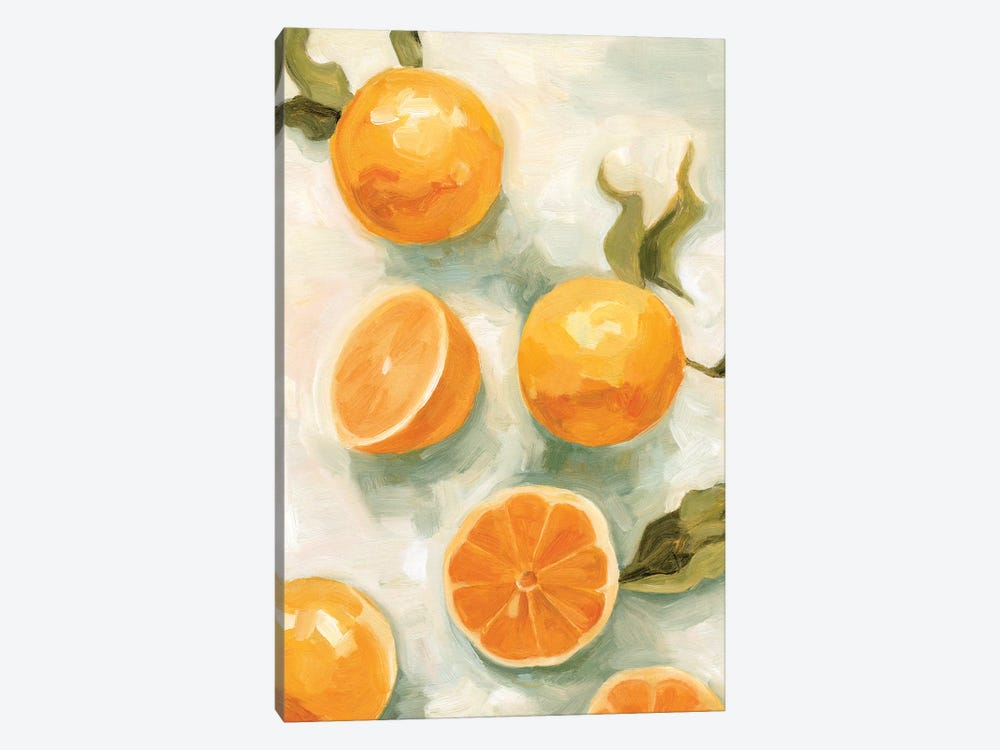 Fresh Citrus V by Emma Scarvey 1-piece Canvas Artwork