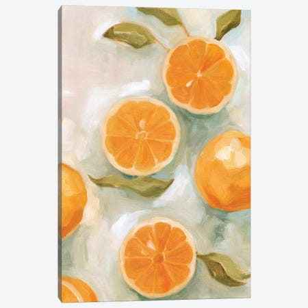Fresh Citrus VI Canvas Print #EMS235} by Emma Scarvey Canvas Art