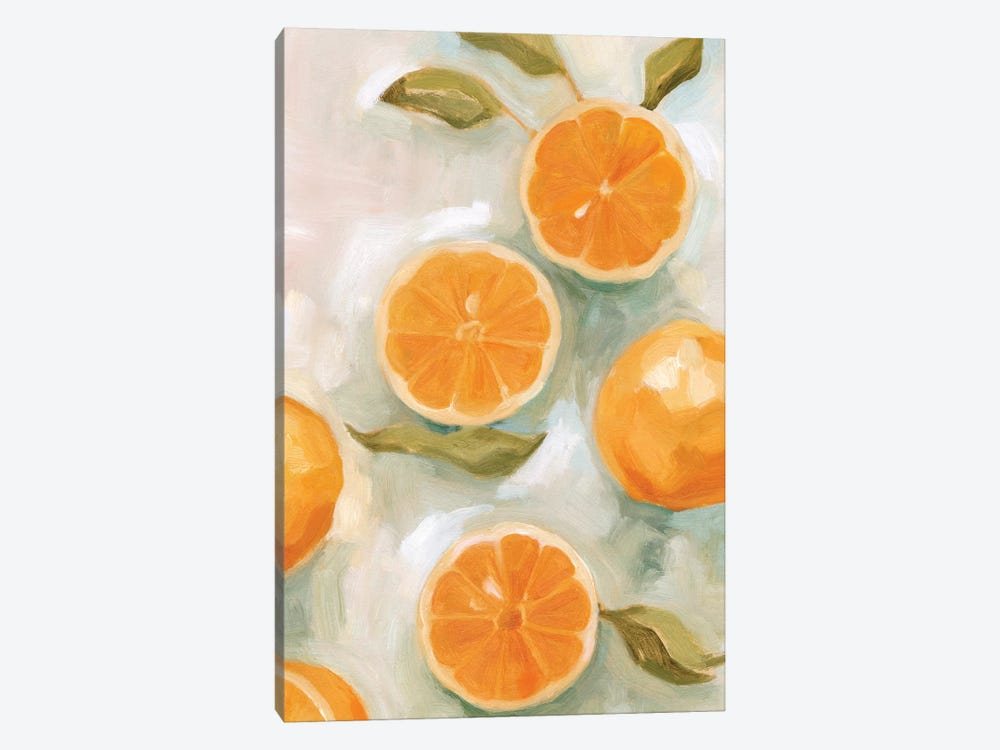 Fresh Citrus VI by Emma Scarvey 1-piece Canvas Art Print