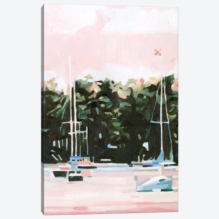 Lake Afternoon I Canvas Print #EMS240} by Emma Scarvey Canvas Art
