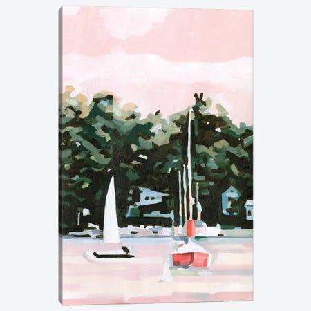 Lake Afternoon II Canvas Print #EMS241} by Emma Scarvey Canvas Artwork