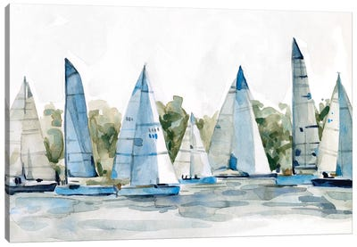 Pastel Marina I Canvas Art Print