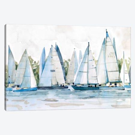 Pastel Marina II Canvas Print #EMS245} by Emma Scarvey Canvas Art Print