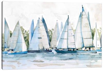 Pastel Marina II Canvas Art Print