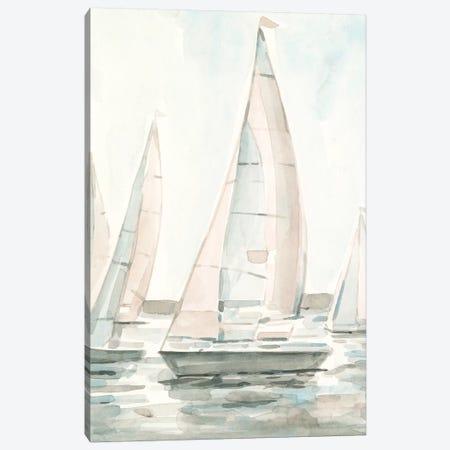 Soft Sail I 3-Piece Canvas #EMS248} by Emma Scarvey Canvas Art