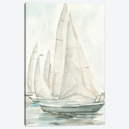 Soft Sail II Canvas Print #EMS249} by Emma Scarvey Canvas Art