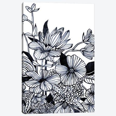 Wildflower Tangle I Canvas Print #EMS264} by Emma Scarvey Canvas Print
