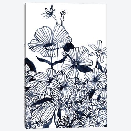 Wildflower Tangle II Canvas Print #EMS265} by Emma Scarvey Canvas Art Print