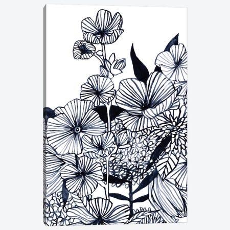 Wildflower Tangle III Canvas Print #EMS266} by Emma Scarvey Art Print