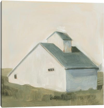 Serene Barn I Canvas Art Print