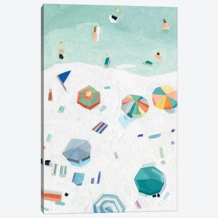 Beach Vista II 3-Piece Canvas #EMS270} by Emma Scarvey Canvas Art Print
