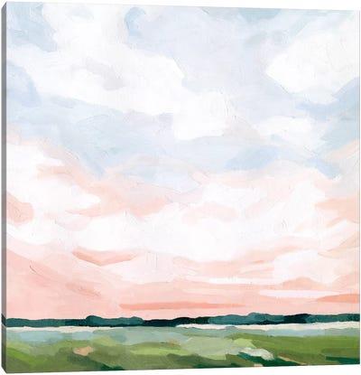 Pink Morning Horizon II Canvas Art Print