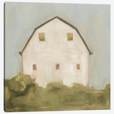 Serene Barn III Canvas Print #EMS28} by Emma Scarvey Canvas Art Print