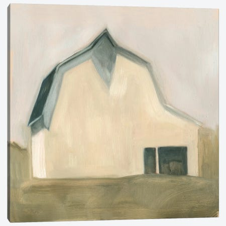 Serene Barn IV Canvas Print #EMS29} by Emma Scarvey Art Print