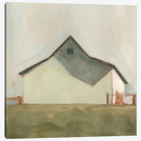 Serene Barn V Canvas Print #EMS30} by Emma Scarvey Canvas Art
