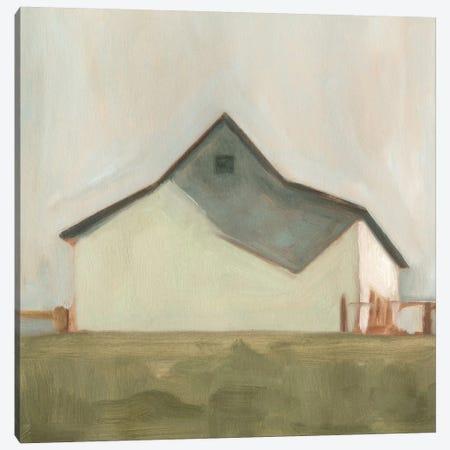 Serene Barn V Canvas Print #EMS30} by Emma Scarvey Canvas Art