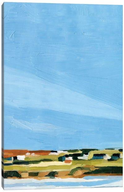 Color Field Landscape I Canvas Art Print