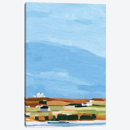 Color Field Landscape II Canvas Print #EMS314} by Emma Scarvey Canvas Art Print