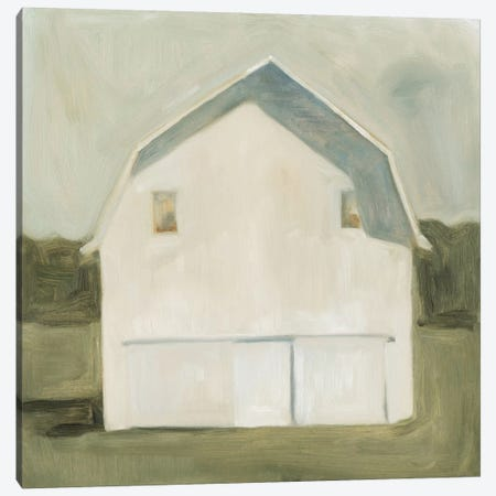 Serene Barn VI Canvas Print #EMS31} by Emma Scarvey Canvas Art