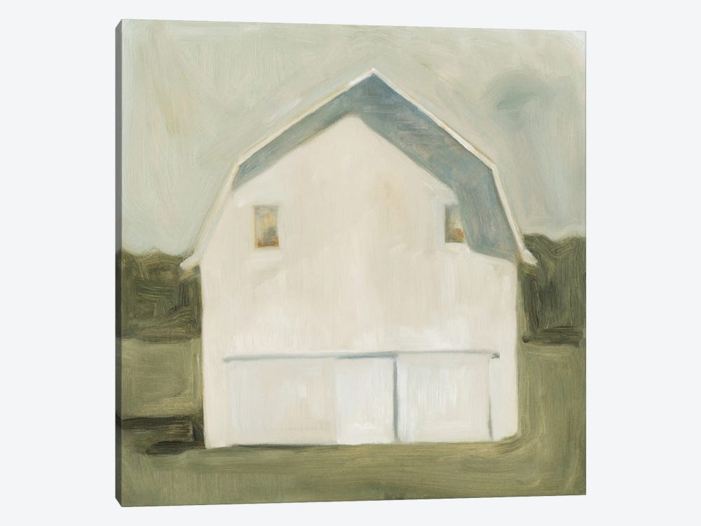 Serene Barn VI by Emma Scarvey 1-piece Canvas Art