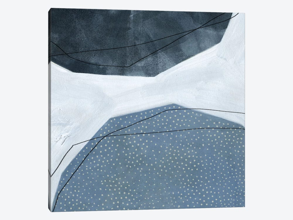 Adjacent Abstraction I by Emma Scarvey 1-piece Canvas Art Print