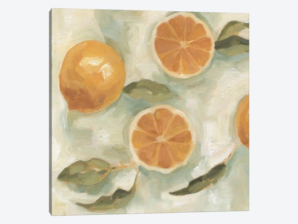 Citrus Study In Oil III by Emma Scarvey 1-piece Canvas Art