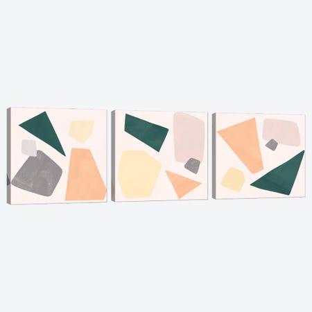 Curio Triptych Canvas Print Set #EMS3HSET003} by Emma Scarvey Canvas Art Print