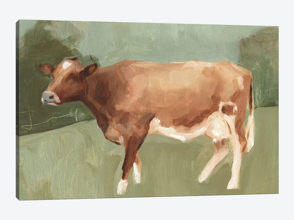 Bovine Field I 1-piece Canvas Art Print