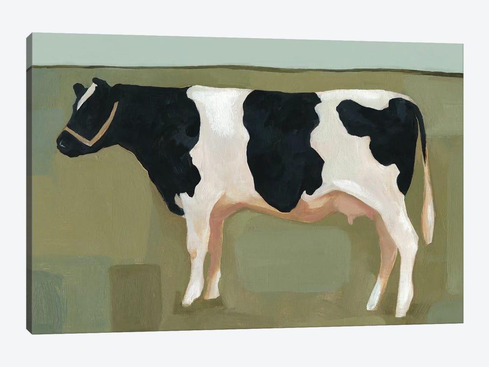 Bovine Portrait II by Emma Scarvey 1-piece Canvas Wall Art