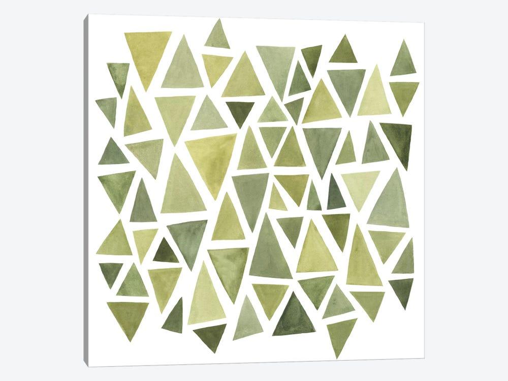 Celadon Geometry II by Emma Scarvey 1-piece Canvas Artwork