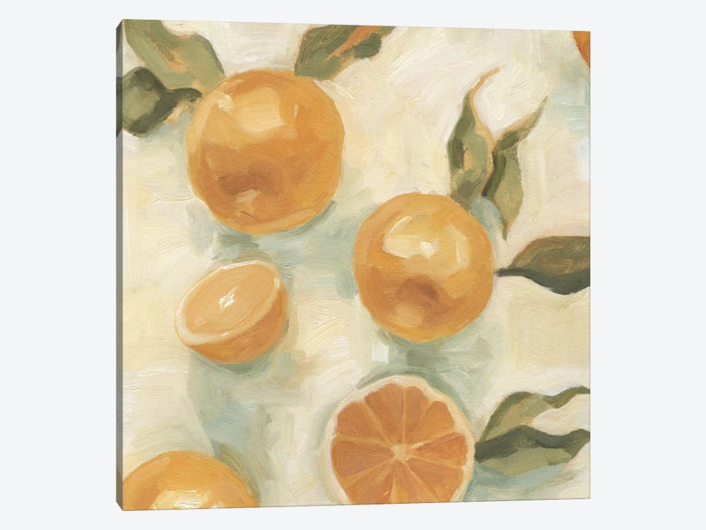 Citrus Study In Oil IV by Emma Scarvey 1-piece Canvas Art Print