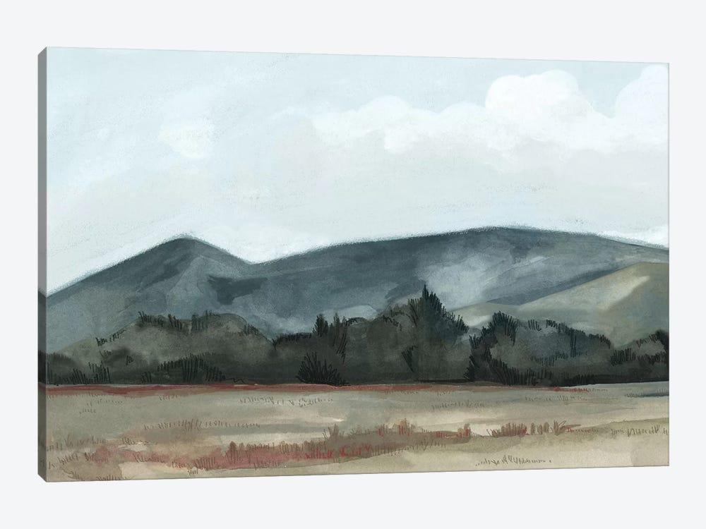 Farmhouse View I by Emma Scarvey 1-piece Canvas Wall Art
