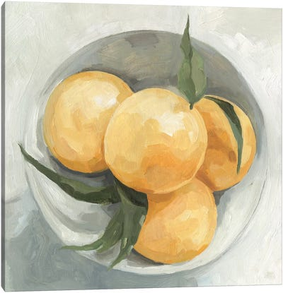 Fruit Bowl I Canvas Art Print