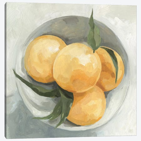 Fruit Bowl I 3-Piece Canvas #EMS59} by Emma Scarvey Canvas Wall Art