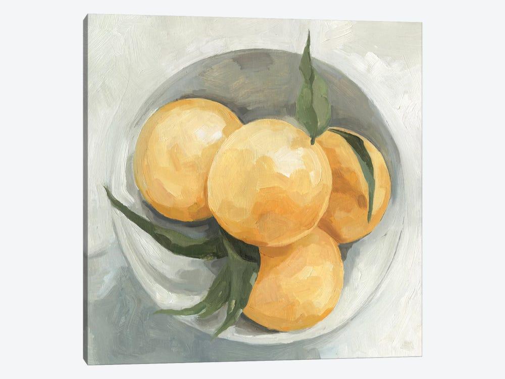 Fruit Bowl I by Emma Scarvey 1-piece Canvas Art