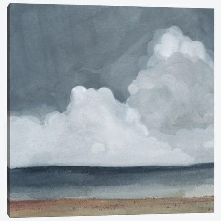 Cloud Landscape I Canvas Print #EMS5} by Emma Scarvey Canvas Print