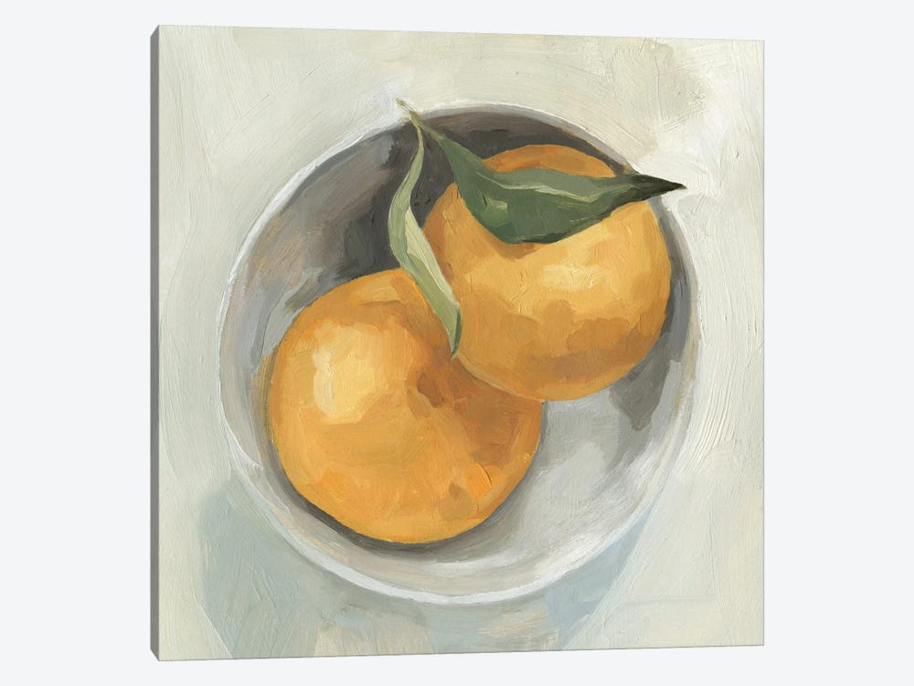 Fruit Bowl II by Emma Scarvey 1-piece Canvas Art