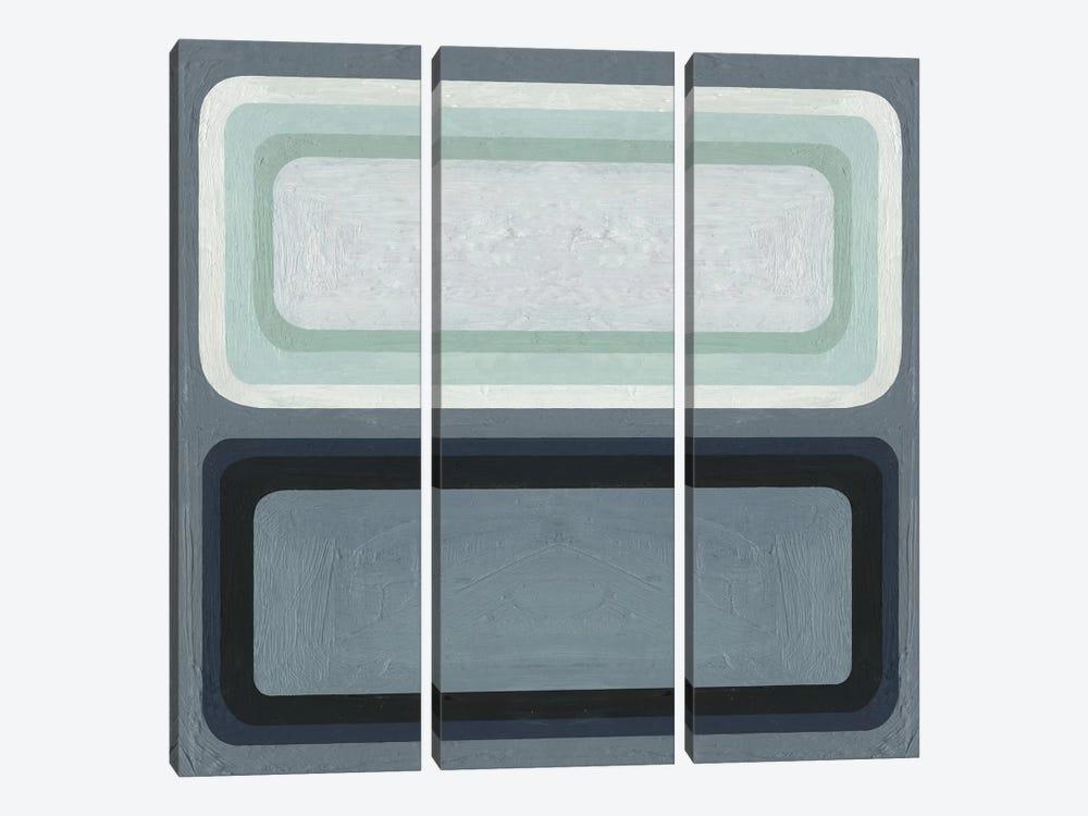 Maritime Color Field II by Emma Scarvey 3-piece Canvas Artwork