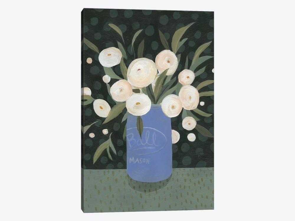 Mason Jar Bouquet I by Emma Scarvey 1-piece Art Print