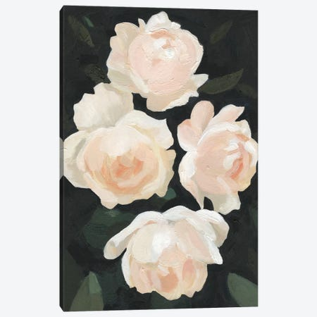 Nighttime Flora I Canvas Print #EMS67} by Emma Scarvey Canvas Wall Art