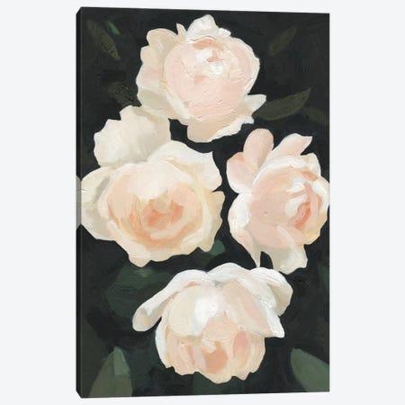 Nighttime Flora I Canvas Print #EMS67} by Emma Scarvey Canvas Wall Art