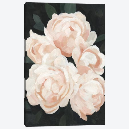Nighttime Flora II Canvas Print #EMS68} by Emma Scarvey Art Print