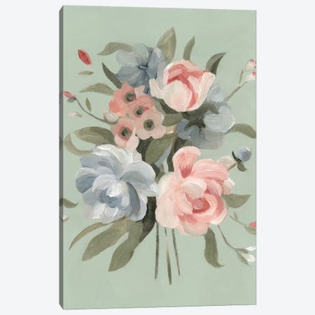 Pastel Bouquet II Canvas Print #EMS71} by Emma Scarvey Canvas Art