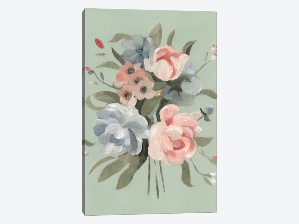 Pastel Bouquet II by Emma Scarvey 1-piece Canvas Artwork